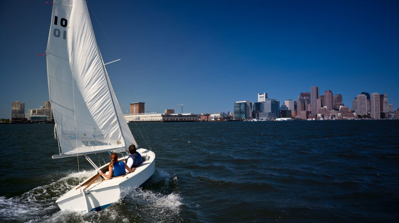 Community Sailing on Boston Harbor
