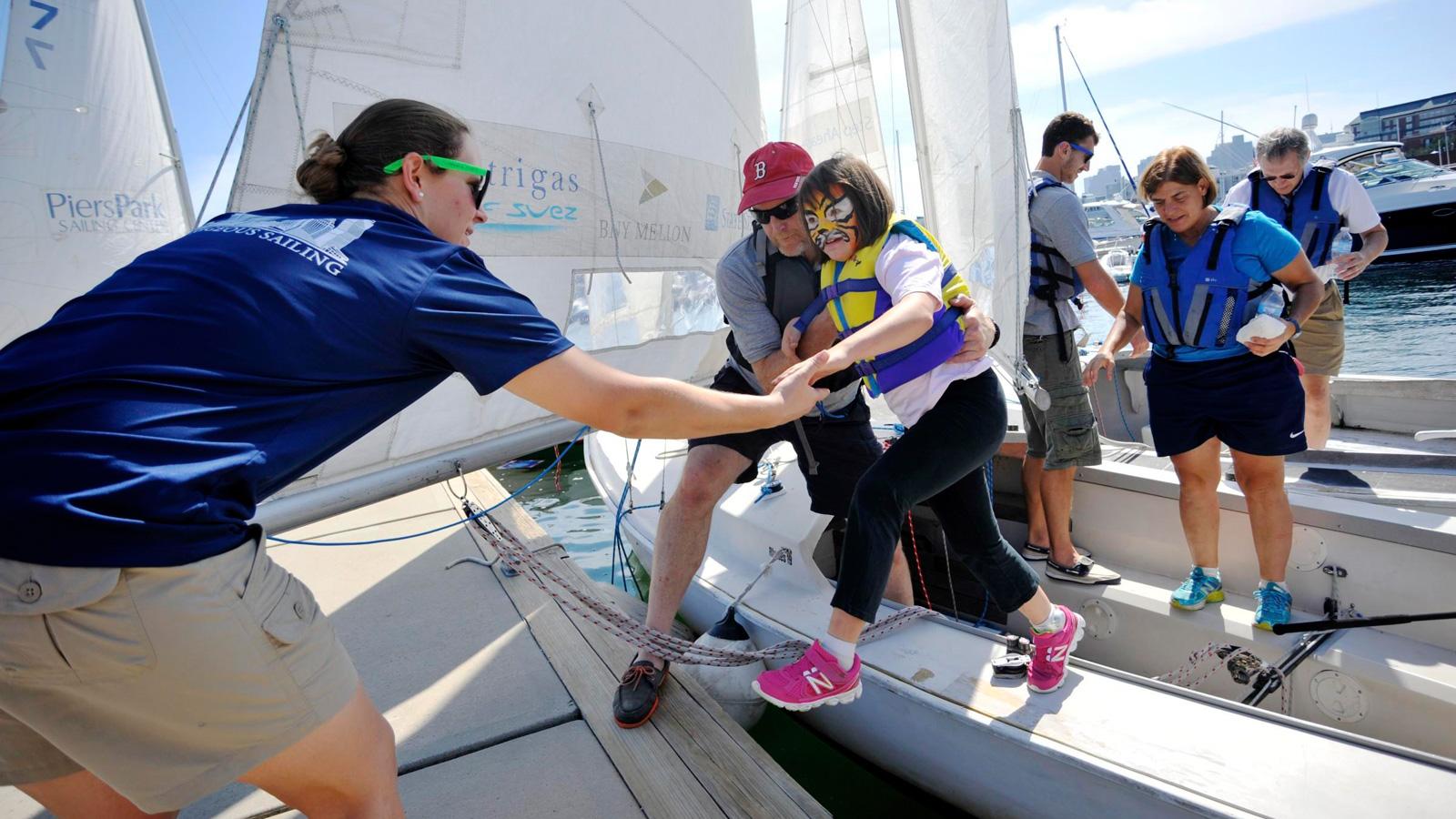 Charlestown Adapative Family Sailing