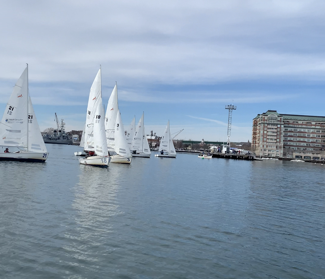 Frostbiting V-Day Race 2 Start